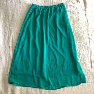 🔥 4 for $25 / maxi chiffon skirt